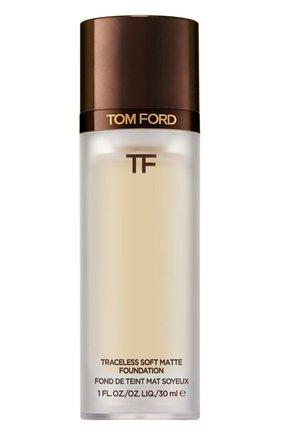 Тональная основа traceless soft matte foundation, 1.1 warm sand TOM FORD бесцветного цвета, арт. T8X9-06 | Фото 1