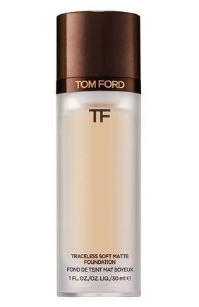 Тональная основа traceless soft matte foundation, 1.5 cream TOM FORD бесцветного цвета, арт. T8X9-09 | Фото 1