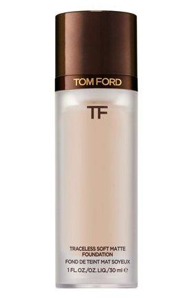 Тональная основа traceless soft matte foundation, 3.5 ivory rose TOM FORD бесцветного цвета, арт. T8X9-13 | Фото 1