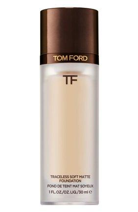 Тональная основа traceless soft matte foundation, 4.5 ivory TOM FORD бесцветного цвета, арт. T8X9-16 | Фото 1