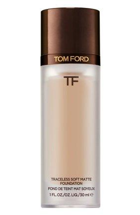 Тональная основа traceless soft matte foundation, 5.1 cool almond TOM FORD бесцветного цвета, арт. T8X9-18 | Фото 1