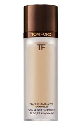 Тональная основа traceless soft matte foundation, 5.5 bisque TOM FORD бесцветного цвета, арт. T8X9-19 | Фото 1