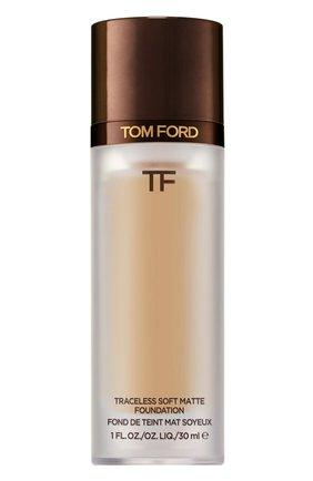 Тональная основа traceless soft matte foundation, 5.6 ivory bisque TOM FORD бесцветного цвета, арт. T8X9-20 | Фото 1