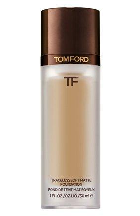 Тональная основа traceless soft matte foundation, 7.5 shell beige TOM FORD бесцветного цвета, арт. T8X9-26 | Фото 1