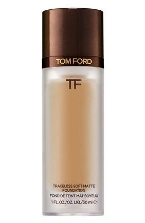 Тональная основа traceless soft matte foundation, 8.7 golden almond TOM FORD бесцветного цвета, арт. T8X9-29 | Фото 1