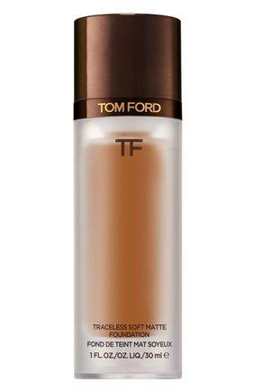 Тональная основа traceless soft matte foundation, 9.5 warm almond TOM FORD бесцветного цвета, арт. T8X9-30 | Фото 1