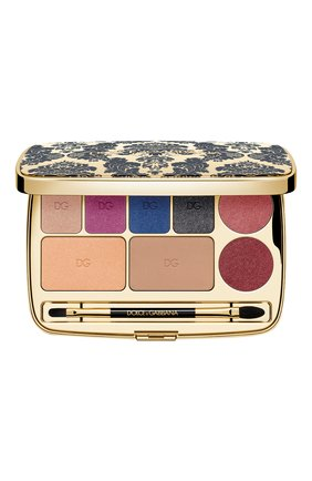 Женского универсальная палетка для лица oriental night palette DOLCE & GABBANA бесцветного цвета, арт. 3123450DG | Фото 1