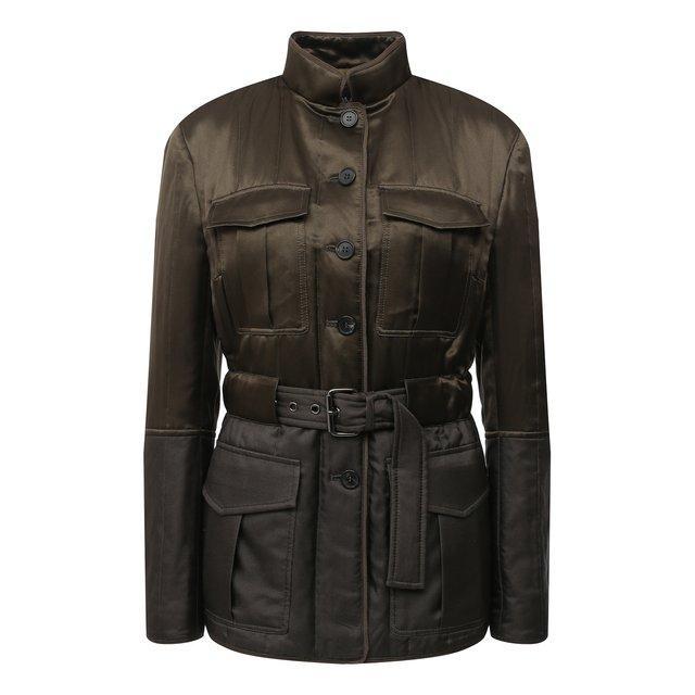 Куртка из вискозы и шелка Tom Ford