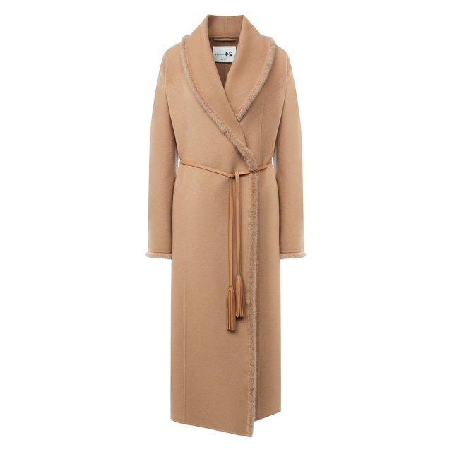 Пальто из шерсти и кашемира manzoni24