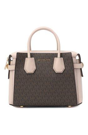 Женская сумка mercer MICHAEL MICHAEL KORS коричневого цвета, арт. 30S9GM9S1B   Фото 1