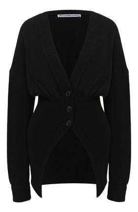 Женский кардиган ALEXANDER WANG черного цвета, арт. 1KC2203013 | Фото 1