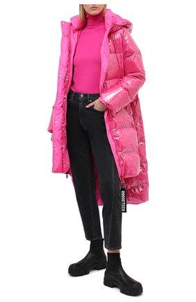 Женский пуховик GOOSE TECH розового цвета, арт. GST.220.114.605   Фото 2