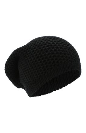 Женская кашемировая шапка INVERNI черного цвета, арт. 0097CMG3   Фото 1