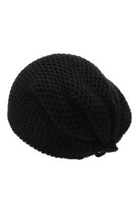 Женская кашемировая шапка INVERNI черного цвета, арт. 0097CMG3   Фото 2