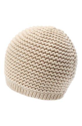 Женская кашемировая шапка INVERNI светло-бежевого цвета, арт. 5086CM   Фото 2