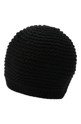 Женская кашемировая шапка INVERNI черного цвета, арт. 5086CM   Фото 2