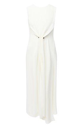 Женское платье из вискозы VICTORIA BECKHAM белого цвета, арт. 1320WDR001616A | Фото 1