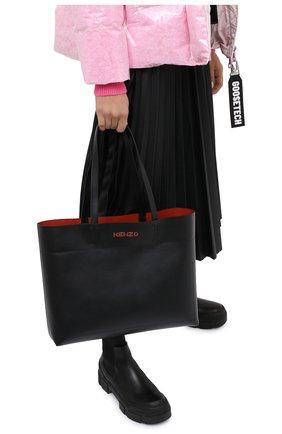 Женский сумка-шопер kenzo kadet KENZO черного цвета, арт. FA62SA703L37 | Фото 2