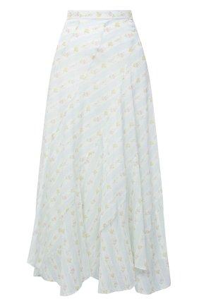 Женская хлопковая юбка POLO RALPH LAUREN кремвого цвета, арт. 211800631 | Фото 1