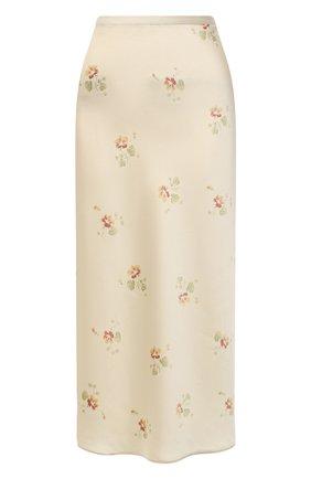 Женская юбка POLO RALPH LAUREN кремвого цвета, арт. 211812136 | Фото 1