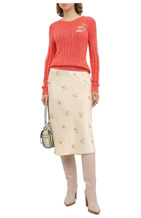 Женская юбка POLO RALPH LAUREN кремвого цвета, арт. 211812136 | Фото 2