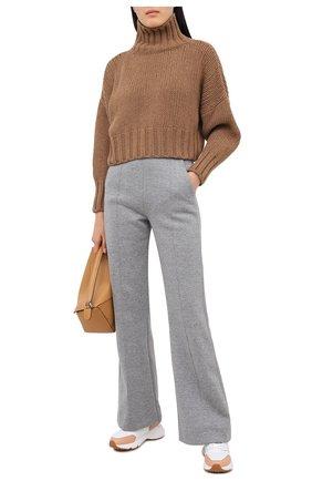 Женские кожаные кроссовки TOD'S белого цвета, арт. XXW54C0DP70N0P | Фото 2