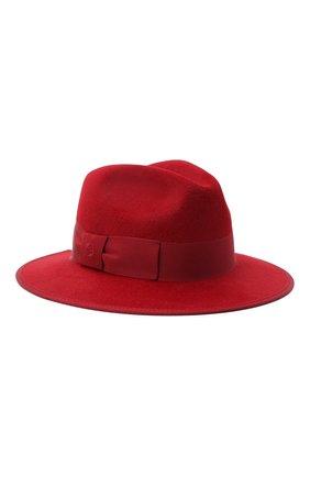 Женская фетровая шляпа GUCCI красного цвета, арт. 628551/4HK71 | Фото 1