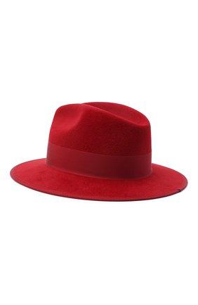 Женская фетровая шляпа GUCCI красного цвета, арт. 628551/4HK71 | Фото 2