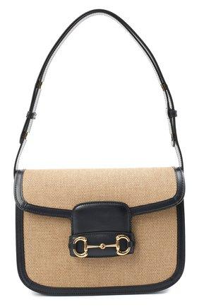 Женская сумка 1955 GUCCI бежевого цвета, арт. 602204/H58AK | Фото 1
