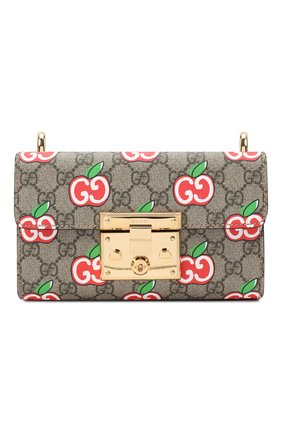 Женская сумка padlock GUCCI красного цвета, арт. 409487/2EVEG | Фото 1