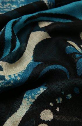 Женский шерстяной шарф DRIES VAN NOTEN разноцветного цвета, арт. 202-11308-202 | Фото 2