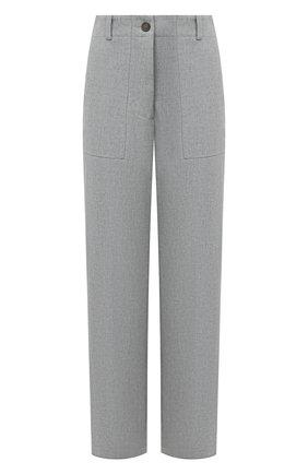 Женские брюки ERIKA CAVALLINI серого цвета, арт. W0/P/P0WF02 | Фото 1