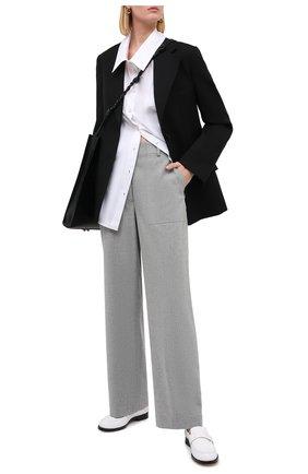Женские брюки ERIKA CAVALLINI серого цвета, арт. W0/P/P0WF02 | Фото 2