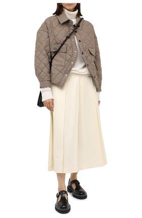 Женская куртка ERIKA CAVALLINI бежевого цвета, арт. W0/P/P0WG01 | Фото 2