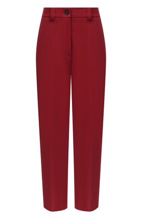 Женские брюки ERIKA CAVALLINI бордового цвета, арт. W0/P/P0WH17 | Фото 1