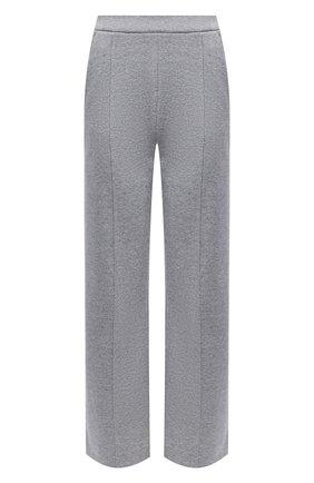 Женские хлопковые брюки DOROTHEE SCHUMACHER серого цвета, арт. 928002/MINIMALISTIC CHARM | Фото 1