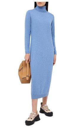 Женское платье PIETRO BRUNELLI голубого цвета, арт. AGI010/WS0004 | Фото 2