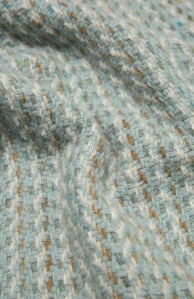 Женский шарф из кашемира и шелка LORO PIANA мятного цвета, арт. FAL2576   Фото 2 (Материал: Кашемир, Шерсть)