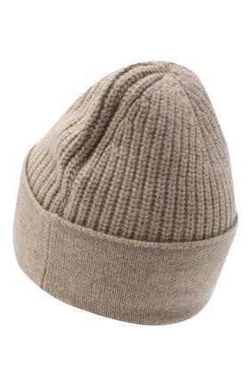 Женская кашемировая шапка NOT SHY коричневого цвета, арт. 3704040C   Фото 2