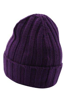 Женская шерстяная шапка OFF-WHITE фиолетового цвета, арт. 0WLA008E20KNI0013510 | Фото 2