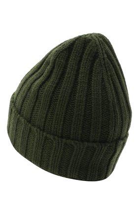 Женская шерстяная шапка OFF-WHITE хаки цвета, арт. 0WLA008E20KNI0015610 | Фото 2 (Материал: Шерсть)