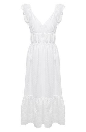 Женское хлопковое платье EVA B.BITZER белого цвета, арт. 10311498 | Фото 1