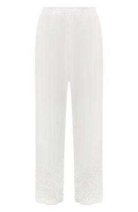 Женские хлопковые брюки EVA B.BITZER светло-бежевого цвета, арт. 10312268 | Фото 1