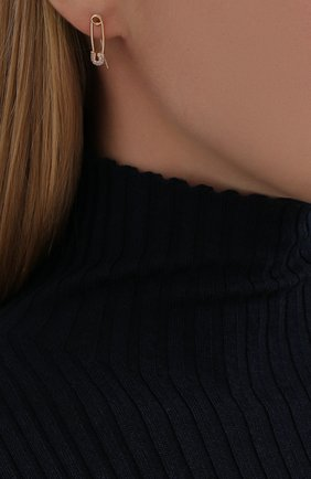 Женские серьги J-POINT розового цвета, арт. ИПГ857.28.210519.1P | Фото 2
