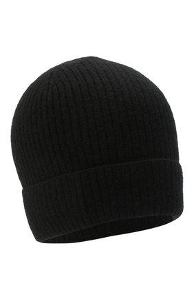 Мужская кашемировая шапка lyon CANOE черного цвета, арт. 4912210 | Фото 1