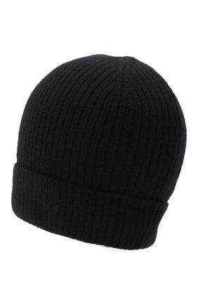 Мужская кашемировая шапка lyon CANOE черного цвета, арт. 4912210 | Фото 2