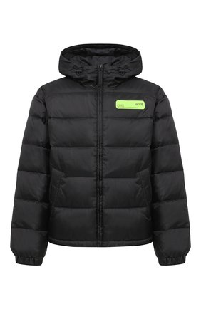 Мужская пуховая куртка VERSACE JEANS COUTURE черного цвета, арт. E5GZA913-ZUP413/25133   Фото 1
