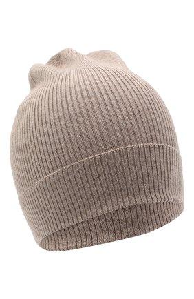 Мужская шапка из кашемира и шелка DOLCE & GABBANA бежевого цвета, арт. GXC70T/JAM9D | Фото 1