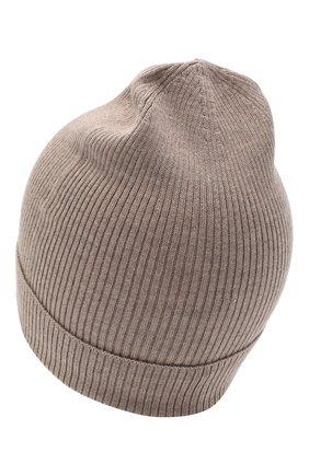 Мужская шапка из кашемира и шелка DOLCE & GABBANA бежевого цвета, арт. GXC70T/JAM9D | Фото 2