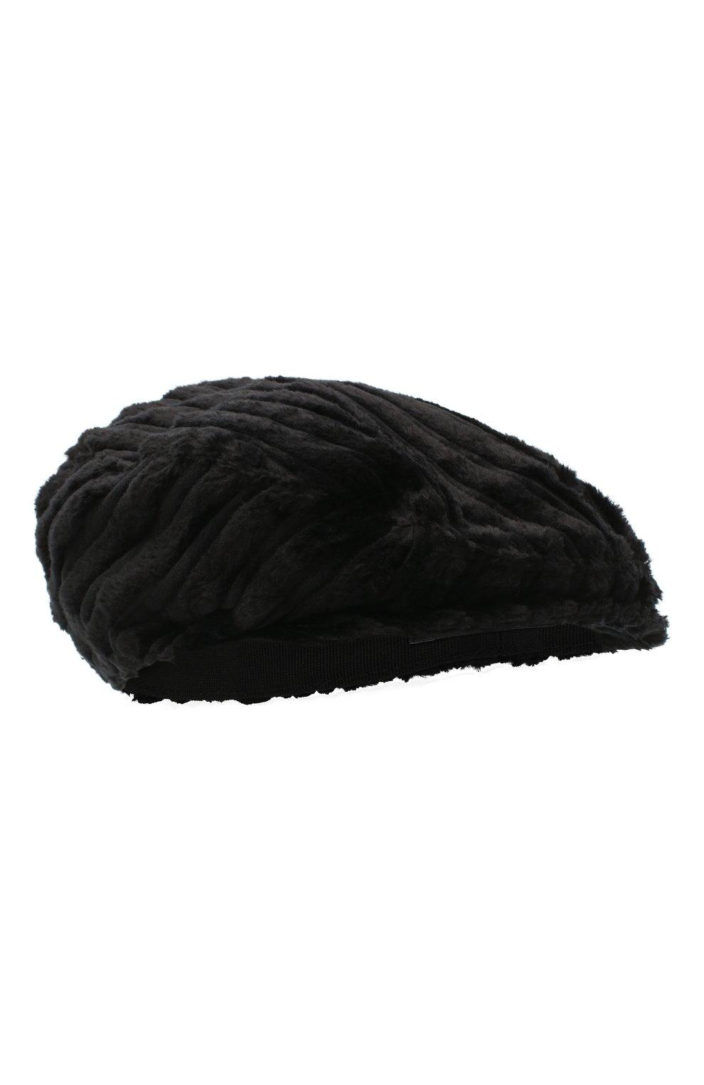 Мужская хлопковое кепи DOLCE & GABBANA черного цвета, арт. GH587A/FRVAY | Фото 1